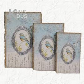 Set dozen in boekvorm Clayre & Eef - 6H1200