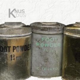 Poederbusjes set `Footpowder 1940`
