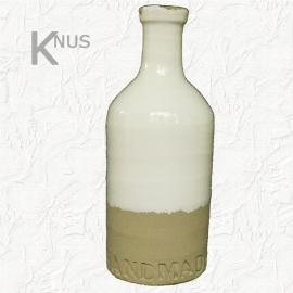 Landelijke keramieken fles van Pomax - 11x28