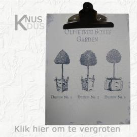 Landelijk Memo clipboard `Bomen`