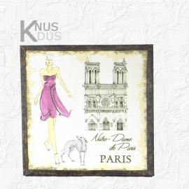 Canvas `Notre Dame`