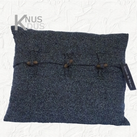 Kussen Linen & More - Oxford Wool 50x40 Grey Melange