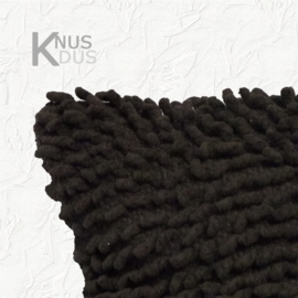 Kussen Linen & More - Twisted loop Dark Grey 45x45