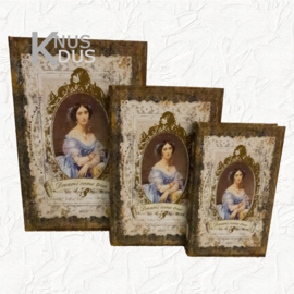 Set dozen in boekvorm Clayre & Eef - 6H1201