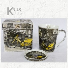 Beker `Yellow Bike`