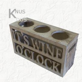 Wijnrek 3 flessen