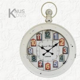 Clock de Paris - blue