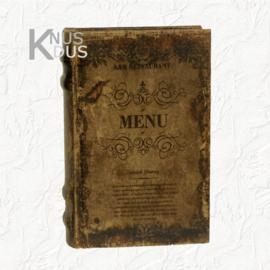 Decoratieboek Menu - large