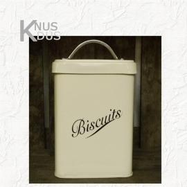 Nostalgische voorraadbus Biscuits - vierkant