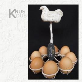 Eierrek voor 8 eieren