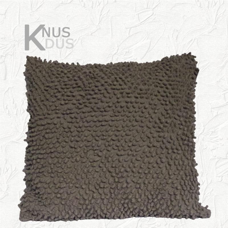Kussen Linen & More - Twisted loop Grey 45x45
