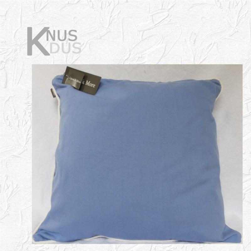 Kussen Linen & More - Bright Blue