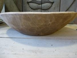 Otentic oude houten schaal L nr 4