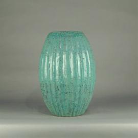 Brynxz vase relief idian blue