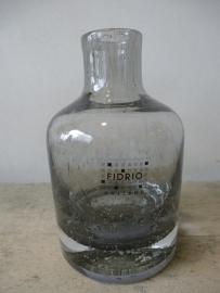 Fidrio bottle grijs