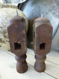 Candle stand old table leg