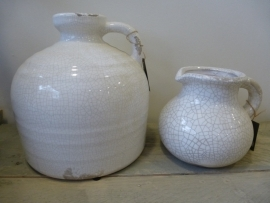Brynxz jug premiere crackle white