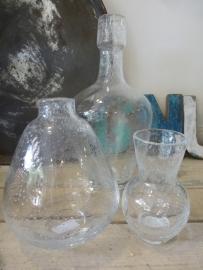 Fidrio bolvase neck clear + bubbles
