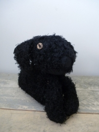 Deurstopper hond zwart