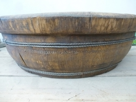 Sobere unieke schaal, oud hout nr. 2