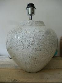 Brynxz classic lamp crackle white
