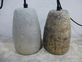 Hanglamp silver /white