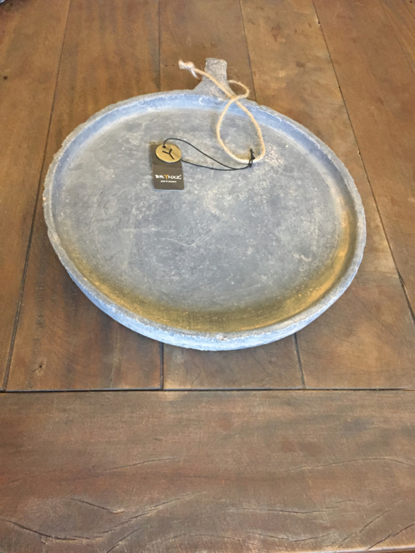 PLATES WITH HANDCRAFT MAJESTIC VINTAGE D.28 H.3