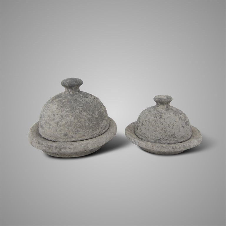 SET OF 2 HIDDEN SECRET RUSTIC D. 20-17 H.16-12