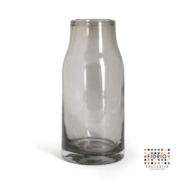 FIDRIO Flower Bottle Small Transparant Black