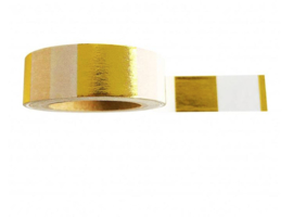 WASHI TAPE GOLD FOIL STRIPE