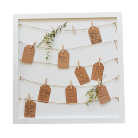 Houten gastenbord -  Rustic Country  - Ginger Ray