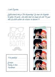 Photobooth Gastenboek | zonder vragen | A4 | 50 pag.