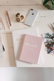 Mijn Bruiloft Notities - Notitieboek