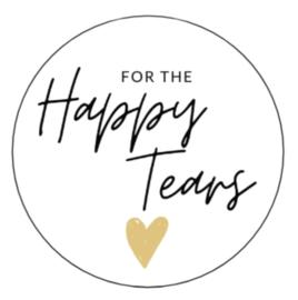 Happy Tears - Goud Hart - 10 stuks