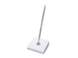 Staande pen - Zilver