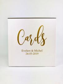 Enveloppendoos Cards Gepersonaliseerd