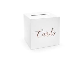 Enveloppendoos Cards rose-goud