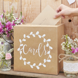 Enveloppendoos 'Cards' Rustic Country