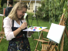 Vrijgezellenfeest ' Naaktschilderen' Workshop