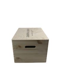 Houten Memorybox - Rechthoek - L