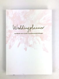 Weddingplanner boek XL A4 - lichte beschadiging - Boek 1
