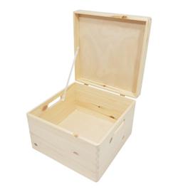 Houten Memorybox - Vierkant - S