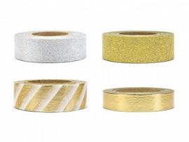 Washi Tape set 3 - goud