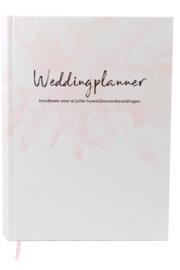 WEDDINGPLANNER - HET ULTIEME INVULBOEK - NL- HARDCOVER - 230 PAGINA'S