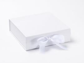 Giftbox zonder bedrukking Wit Maat M