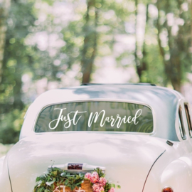 AUTOSTICKER Just Married - Ginger Ray -