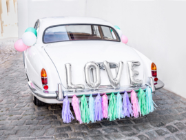 Autodecoratie Colourfull Love - DIY pakket