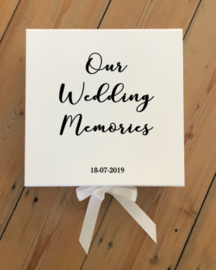 GIFTBOX - OUR WEDDING MEMORIES + DATUM