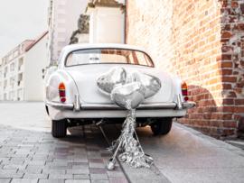 Autodecoratie Hart - Zilver - DIY pakket