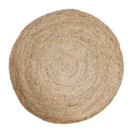 vloerkleed riet 87 cm naturel - VERHUUR
